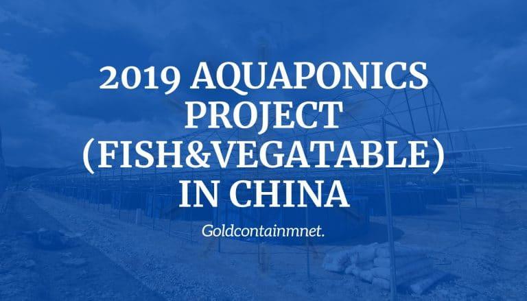 2019 Aquaponics Project in China