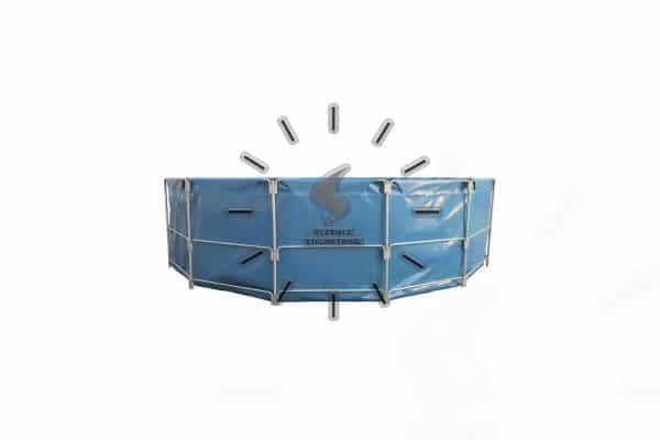 Steel Frame Support Tank
