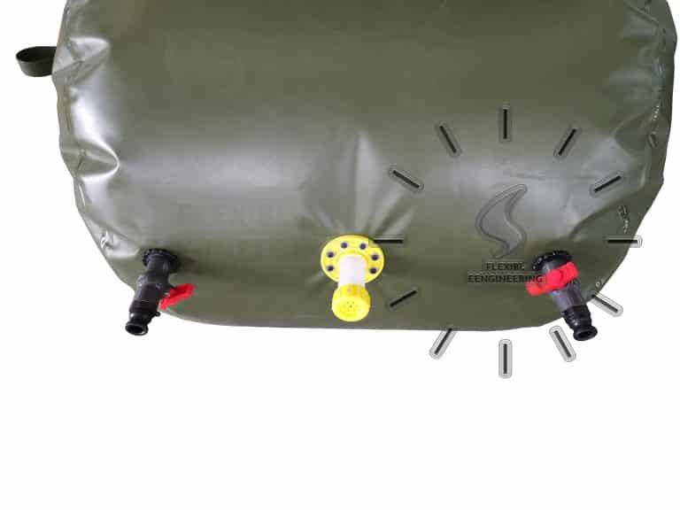 biogas gas stroage bag detailed