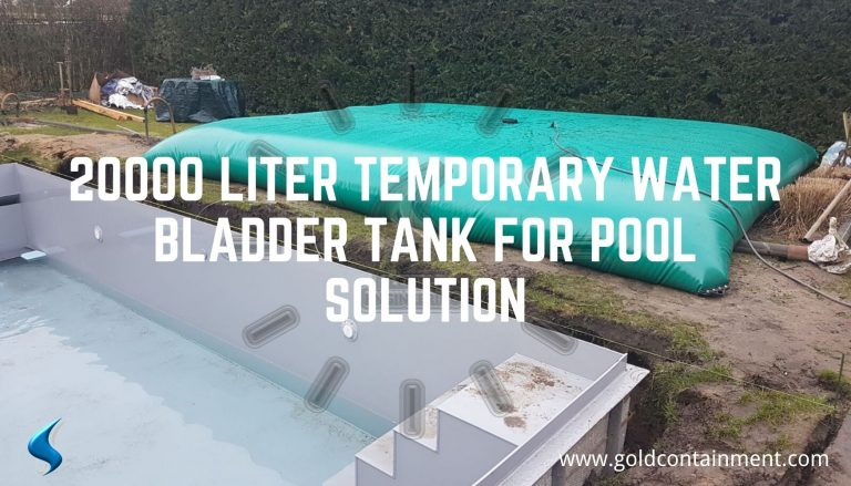 20000 liter Temporary Water Bladder Tank