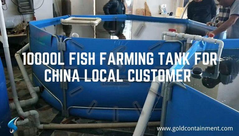 10000L Fish Farming Tank