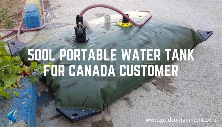 500L Portable Water Tank