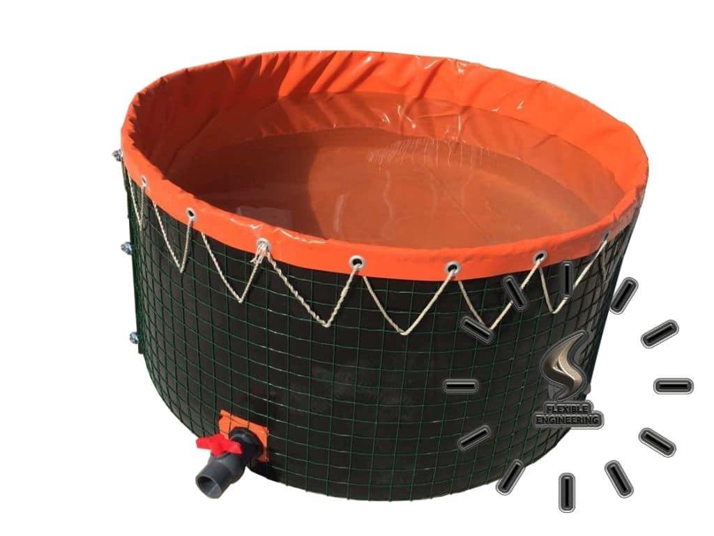 Steel Wire Mesh Fish Farming Tanks